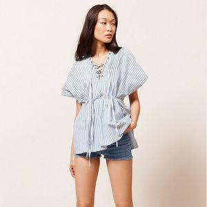NEW Mes Demoiselles Stripped Top